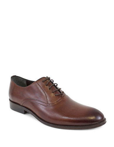 Jay+Dee Man The Oliver Leather Oxfords-RED-EU 40/US 7