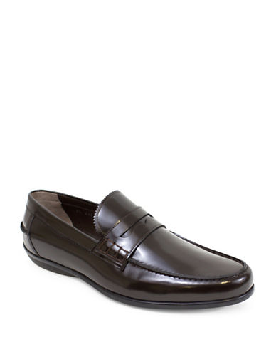 Jay+Dee Man The James Gentlemens Leather Loafers-RED-EU 42/US 9