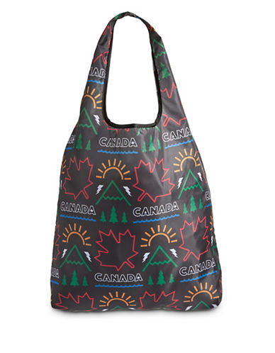 Canadian Paralympic Team Collection Printed Tote-BLACK MULTI-One Size