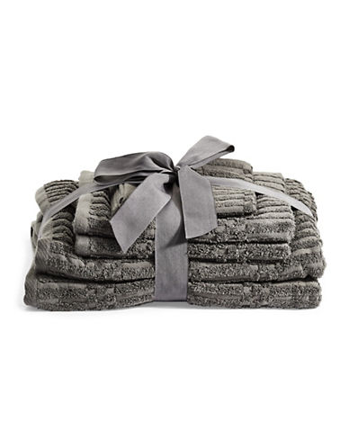 Distinctly Home Six-Piece Cotton Bundle Set-GREY-One Size