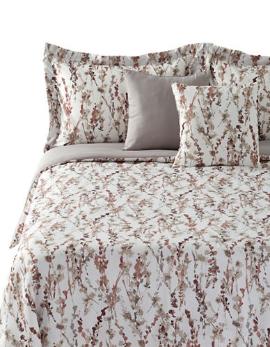 Home Studio Petal Five-Piece Comforter Set-BROWN-King