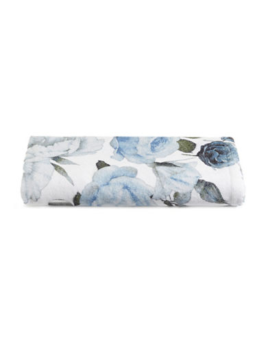 Distinctly Home Floral Cotton Hand Towel-BLUE-Hand Towel