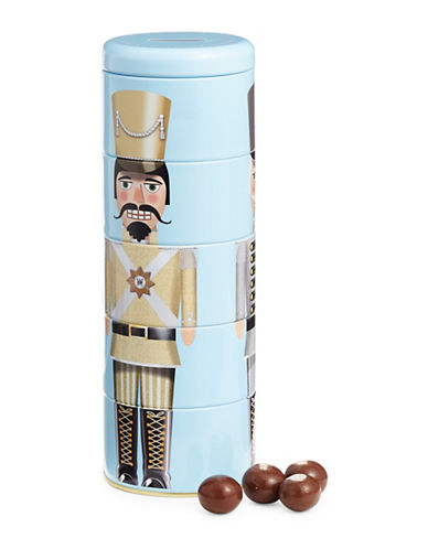 HudsonS Bay Company Chocolate Malt Balls in Nutcracker Tin-NO COLOUR-One Size