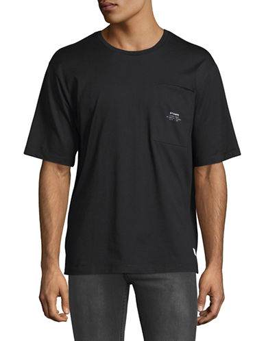 Stampd Lenox Boxy Cotton T-Shirt-BLACK-Medium