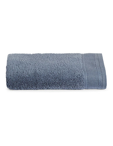 Glucksteinhome Premium MicroCotton Hand Towel-MEDIUM BLUE-Hand Towel