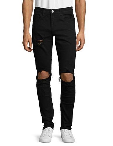 Embellish Bullet Wax Dark Denim-BLACK-34