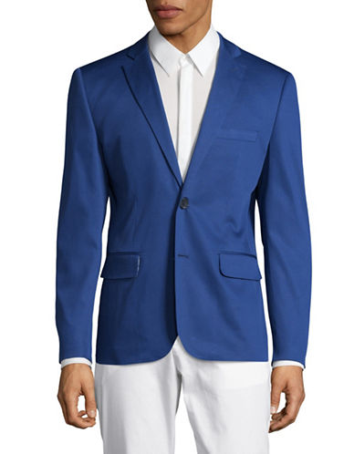 Haight And Ashbury Northwood Suit Jacket-BLUE-44 Regular