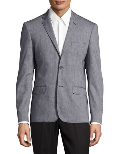 Haight And Ashbury Star Blazer-GREY-44 Regular