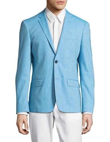 Haight And Ashbury Star Blazer-TURQUOISE-42 Regular