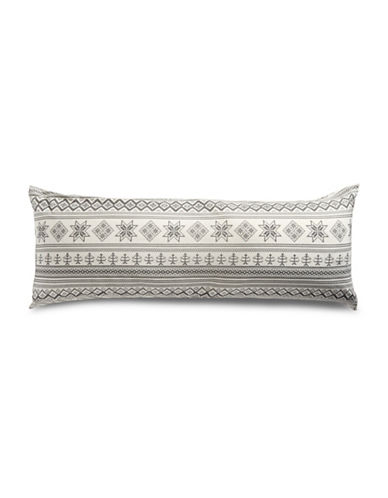 Distinctly Home Fairisle Flannel Body Pillowcase-MULTI-One Size