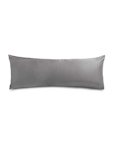 Distinctly Home 400 Thread Count Cotton Body Pillow Case-GREY-One Size