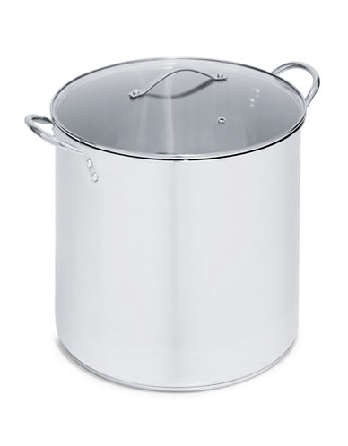 Essential Needs 20 Qt. Stainless Steel Stock Pot-STAINELSS STEEL-15