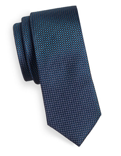 Haight And Ashbury Nailhead Tie-TEAL-One Size