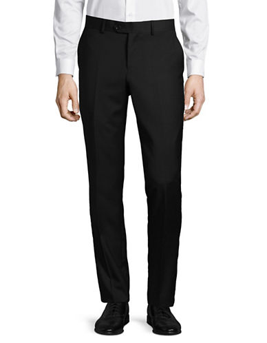 Haight And Ashbury Wool-Blend Pant-BLACK-34 Regular