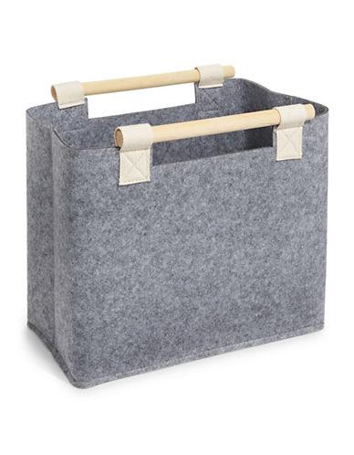 Distinctly Home Felt Basket-GREY-One Size