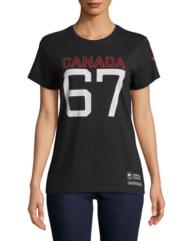 Canadian Olympic Team Collection Canada 67 Graphic Tee-BLACK-X-Large 89594246_BLACK_X-Large