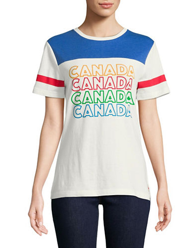 Canadian Paralympic Team Collection Repeat Canada Cotton-Blend Tee-WHITE-X-Large 89596545_WHITE_X-Large