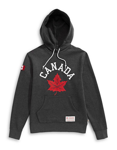 Canadian Olympic Team Collection Graphic Pullover Hoodie-GREY-X-Large 89598370_GREY_X-Large