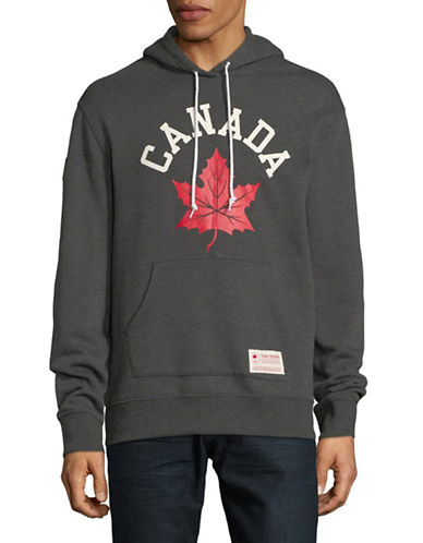 Canadian Olympic Team Collection Graphic Pullover Hoodie-GREY-Large