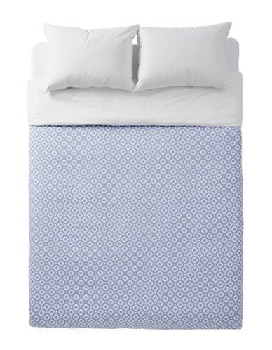 Distinctly Home Kali 400-Thread Count Cotton Duvet Cover-BLUE-King