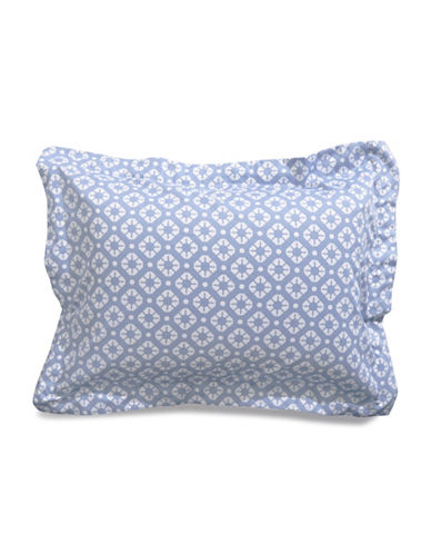 Distinctly Home Kali 400 Thread Count Sham-BLUE-Standard