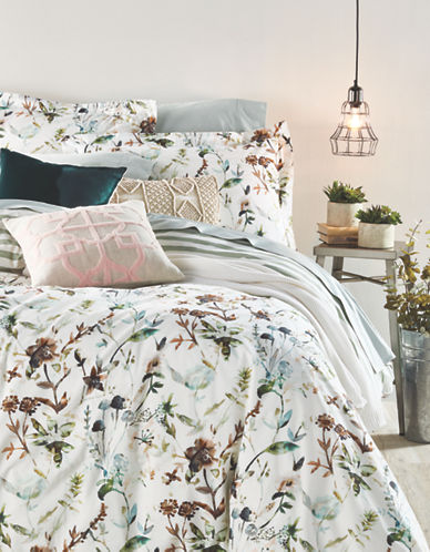 Distinctly Home Meadow 200-Thread Count Duvet Cover Set-MULTI-King