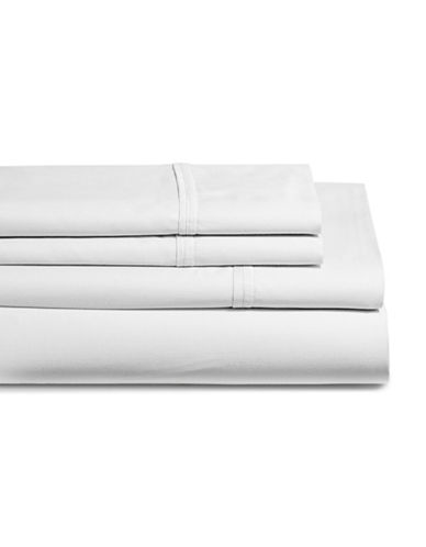 Glucksteinhome Coolest Comfort Sheet Set-WHITE-Queen