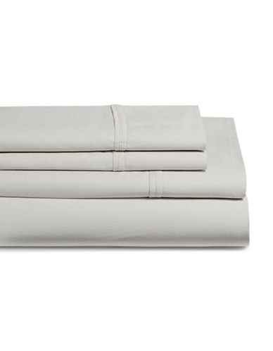 Glucksteinhome Coolest Comfort Sheet Set-LIGHT GREY-King