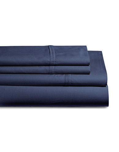Glucksteinhome Coolest Comfort Sheet Set-NAVY-Queen