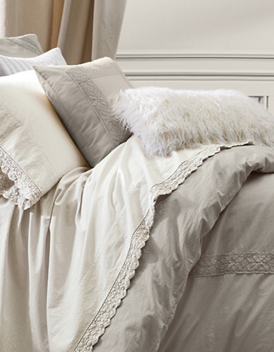 Distinctly Home Boutique Bella Three Piece Duvet Cover Set-TAUPE-King