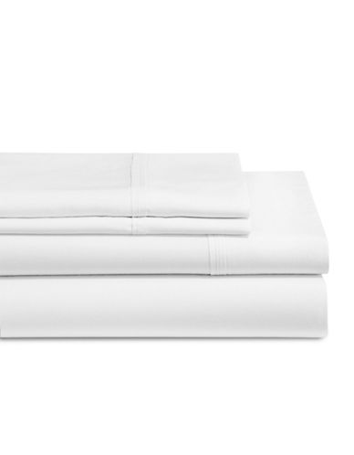 Glucksteinhome 4-Piece Micro Tencel Sheet Set-WHITE-Double