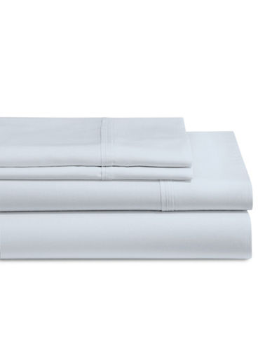 Glucksteinhome 4-Piece Micro Tencel Sheet Set-BLUE-Double