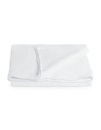 Distinctly Home Boutique Favo Cotton Throw-WHITE-One Size