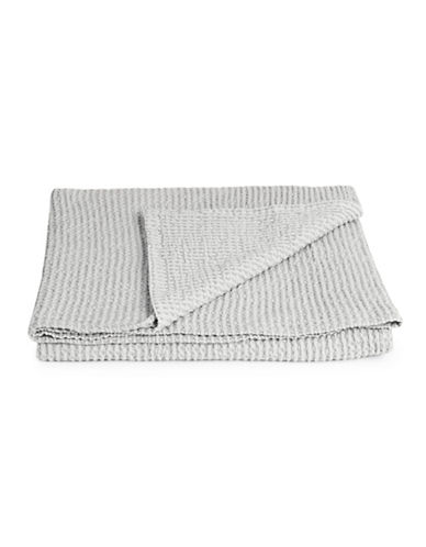 Distinctly Home Boutique Favo Cotton Throw-LIGHT GREY-One Size