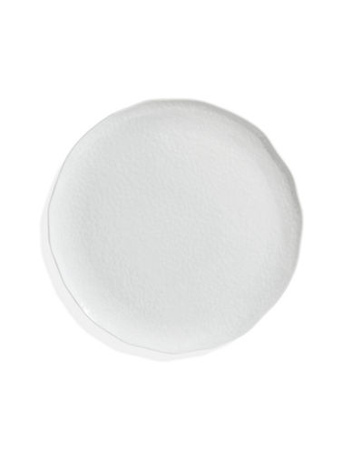 Glucksteinhome Patterned Side Plate-WHITE-One Size