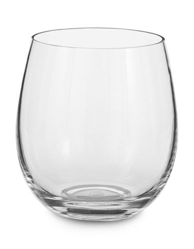 Glucksteinhome Tritan Stemless Wine Glass-CLEAR-One Size
