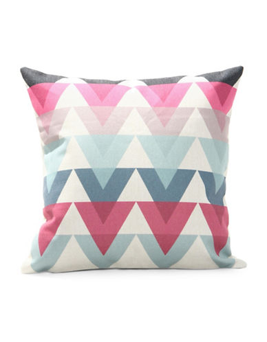 Nema Home Tribal Throw Pillow-MULTI-18x18