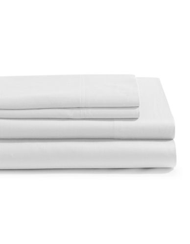 Distinctly Home 4-Piece 300 Thread Count Sheet Set-WHITE-King