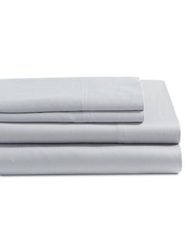 Distinctly Home 4-Piece 300 Thread Count Sheet Set-LIGHT GREY-King