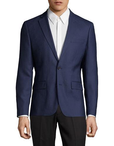 Haight And Ashbury Northwood Wool Blazer-BLUE-42 Regular