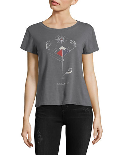 Neoclassics Desert Rose Perfect Tee-CHARCOAL-Large