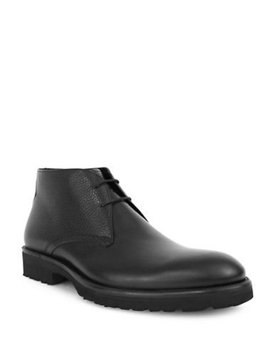 Jay+Dee Man Thompson Wingtip Dress Boot-BLACK-EU 43/US 10