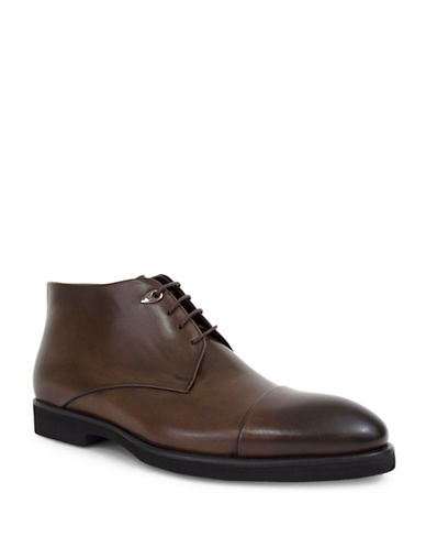 Jay+Dee Man Cooper Cap Toe Dress Boot-BROWN-EU 45/US 12