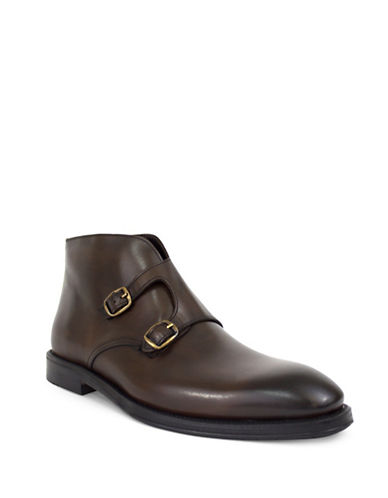 Jay+Dee Man Bentley Double Strap Dress Boot-BROWN-EU 40/US 7