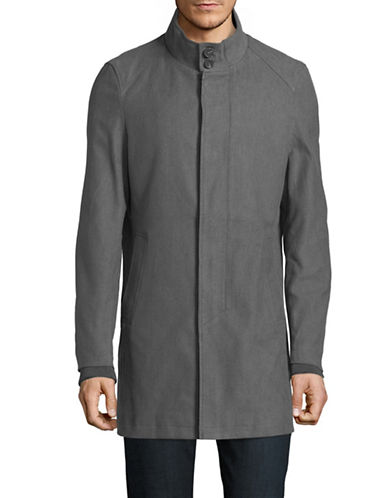 Haight And Ashbury Moor Park Jacket-GREY-Large