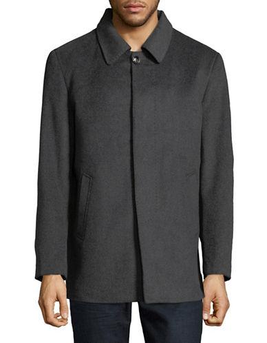 Haight And Ashbury Wool-Cashmere Jacket-GREY-Large