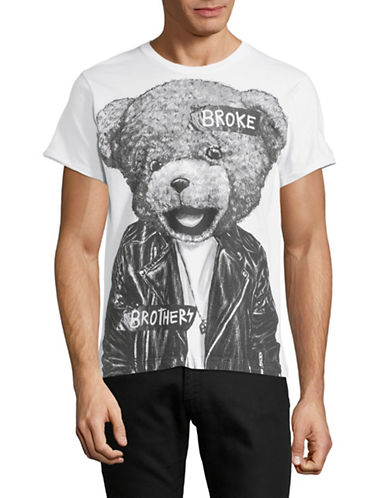 Dom Rebel Bear Cotton T-Shirt-WHITE-Small 89762693_WHITE_Small