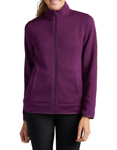 Eddie Bauer Radiator Full-Zip Jacket-PURPLE-Small
