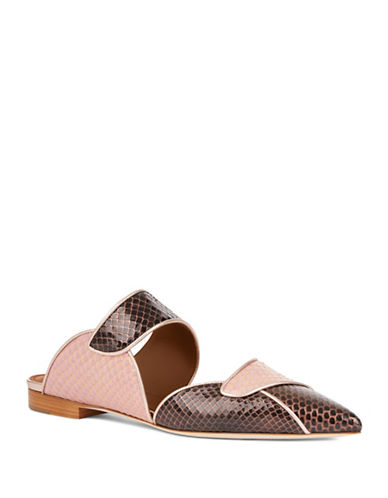 Malone Souliers Odessa Leather Flats-PINK-EUR 40/US 10