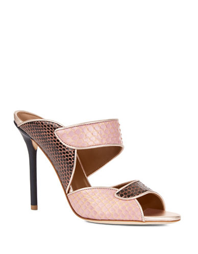 Malone Souliers Olivia Leather Sandals-PINK-EUR 36/US 6